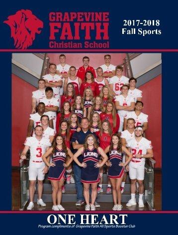 Grapevine Faith Christian 2017-2018 Fall Book