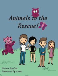 Animals to the Rescue