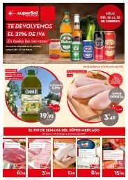 superSol supermercados folleto ofertas del 28 de febrero al 13 de marzo 2018 Zona centro