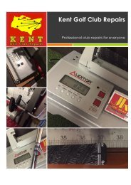 Kent Golf Club Repairs