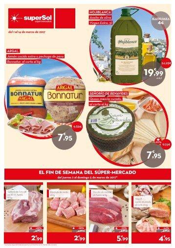 superSol supermercados folleto ofertas del 1 al 14 de marzo 2018 Andalucia