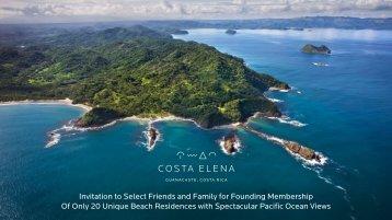 Costa Elena Founders Invitation 27-02-2018 English