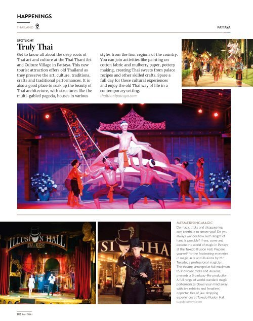 Fah Thai Magazine March/April 2018 - Infight Magazine of Bangkok Airways