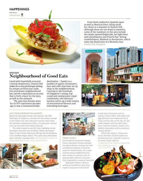 Fah Thai Magazine March/April 2018 - Infight Magazine of Bangkok Airways