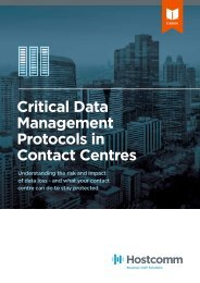 Critical Data Management Protocols in Contact Centres