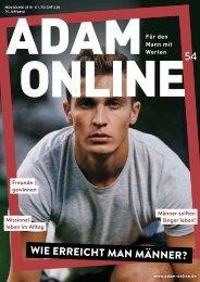 Adam online Nr. 54 Vorschau