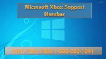 Microsoft XBox Support Number ,Dial 18002201041