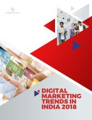 Digital Marketing Trends Report 2018