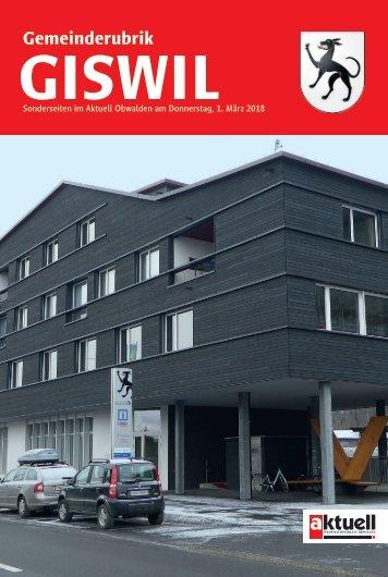 Gemeinde Giswil 2018-09