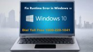 18002201041 How to Fix Runtime Error in Windows 10