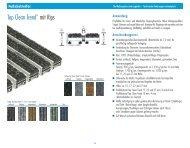 Fußabstreifer - Bing Inox - Geländersysteme