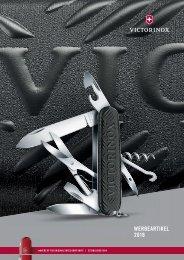 Victorinox Werbeartikel Katalog 2018