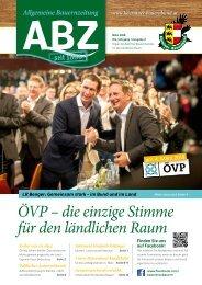 Allgemeine Bauernzeitung  - Ausgabe 02 - 2018 (Kärntner Bauernbund)