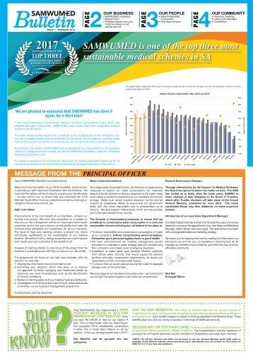 SAMWUMED Bulletin Issue 1 February 2018