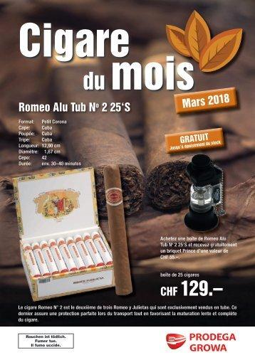Cigare du mois mars