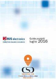 CATALOGO AVS  Electronics 0716