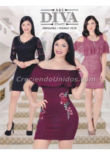 #630 Catálogo Diva Fashion Primavera Verano 2018