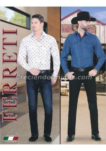 #631 Catalogo Ferreti Jeans Primavera Verano 2018
