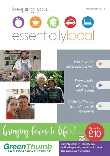 Essentially Local Magazine MAR-APR 2018