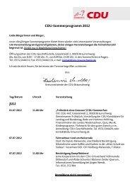 Sommerprogramm 2012_aktuell - CDU Kreisverband Braunschweig