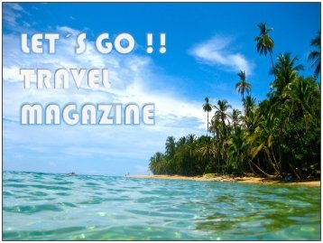 LET´S GO TRAVEL MAGAZINE