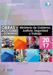 Ministerio de Gobierno, Justicia y Trabajo