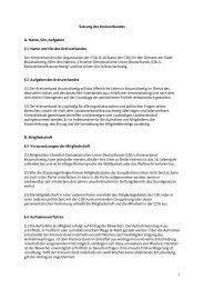 Satzung des Kreisverbandes - CDU Kreisverband Braunschweig