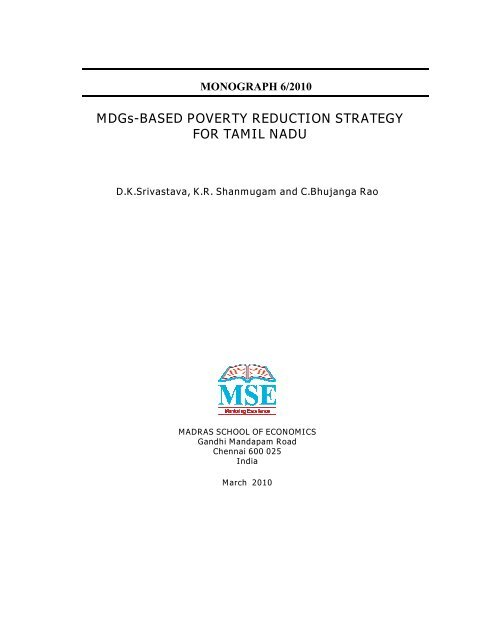 POVERTY REDUCTION STRATEGY TN