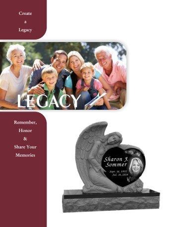 Legacy Memorial Catalog