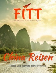 FITT China Reisen Katalog 2018/2019