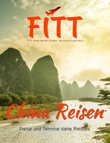 FITT China Reisen Katalog 2018/2019