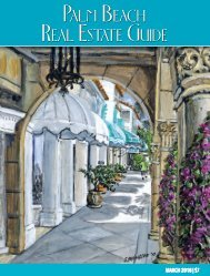 Palm Beach Real Estate Guide March 2018