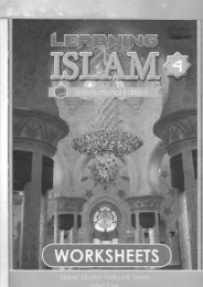 ISLAMIC WORKBOOK CLASS 10