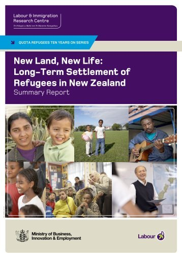 New Land, New Life - Department of Labour