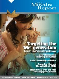 Targeting the 'Me' generation - The Moodie Report