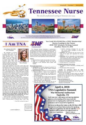 Tennessee Nurse - March 2018