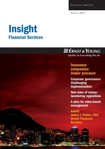 Insight Financial Services – Spring 2003