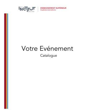 Catalogue-Art de la table-Menu Assis