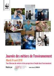 Journée des métiers de l'environnement Mardi 24 avril 2018