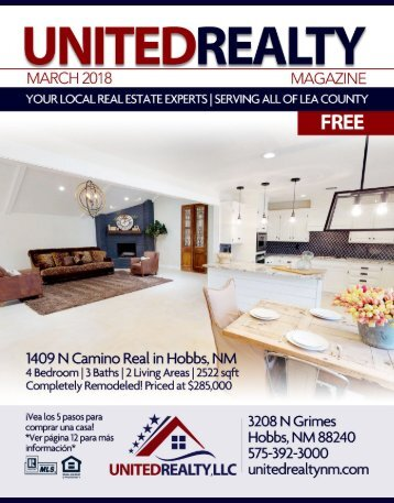 United Realty Magazine March 2018