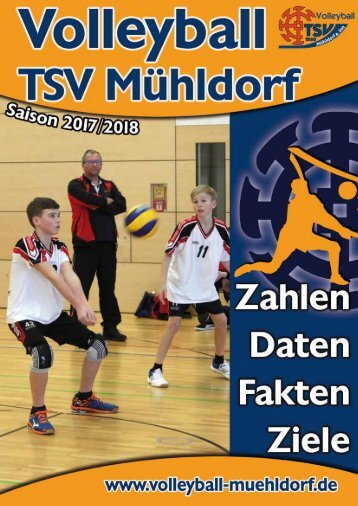 Volleyballbroschüre 2017/18