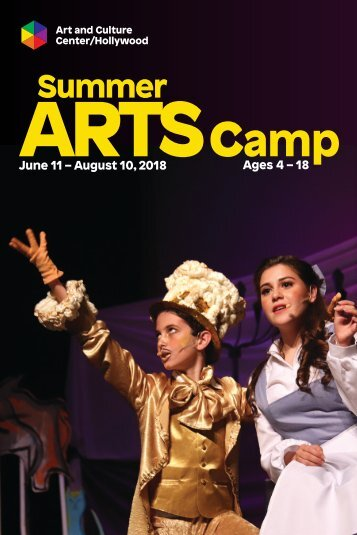 2018 Summer Camp Brochure
