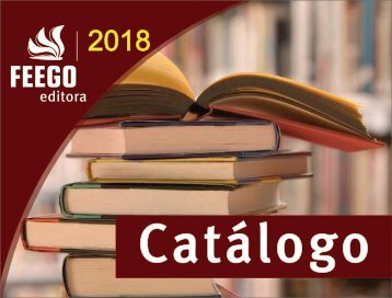 Catálogo Feego Editora 2018