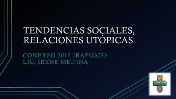 TENDENCIAS SOCIALES, RELACIONES UTÓPICAS