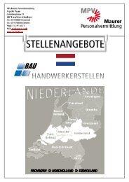 Stellenangebote NL