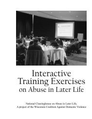 Interactive Training Exercises - Violence Against Women Online ...