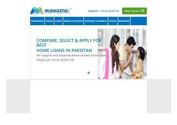 Compare Home Loans in Pakistan