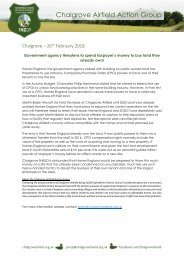 Press Release - Homes England to buy land they already own