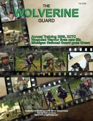 Annual Training 2009, XCTC Wounded Warrior lives new life ...