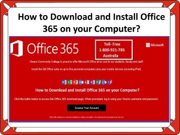 How to Download and Install Office 365 on your Computer?